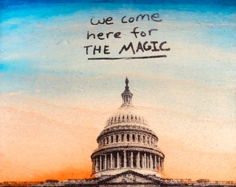 We Come Here For The Magic (DC edition)