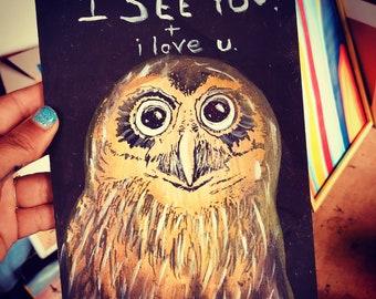 The Friendly Owl