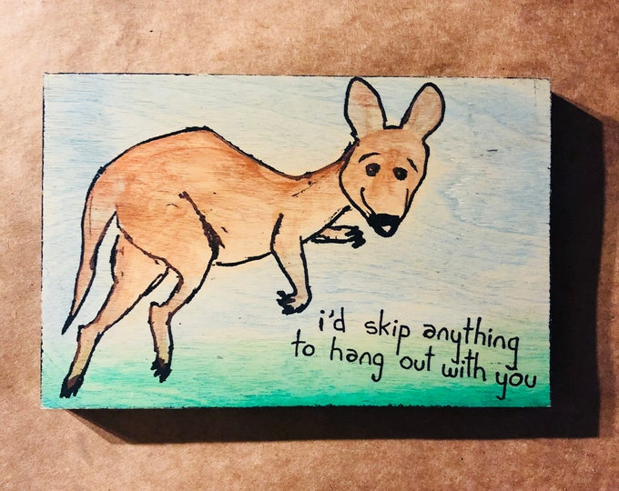 Friendly Kangaroo