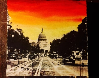 Capitol Sunset