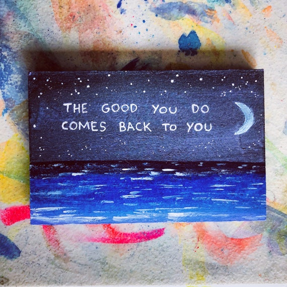 The Good You DO...