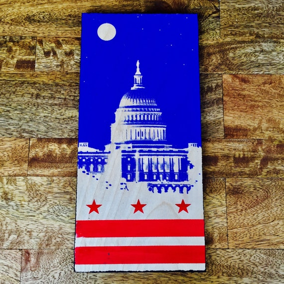 The Capitol and the Flag