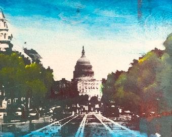 Mini Capitol Street Scene