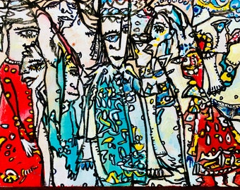 Throng by Ilia Pasymansky