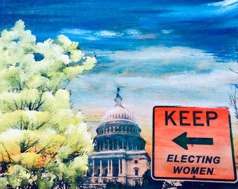 Keep Electing Women