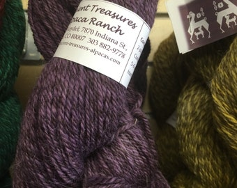 Hand Dyed Alpaca Merino yarn