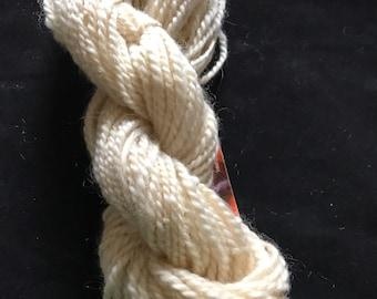 Romney wool hand spun worsted wool yarn