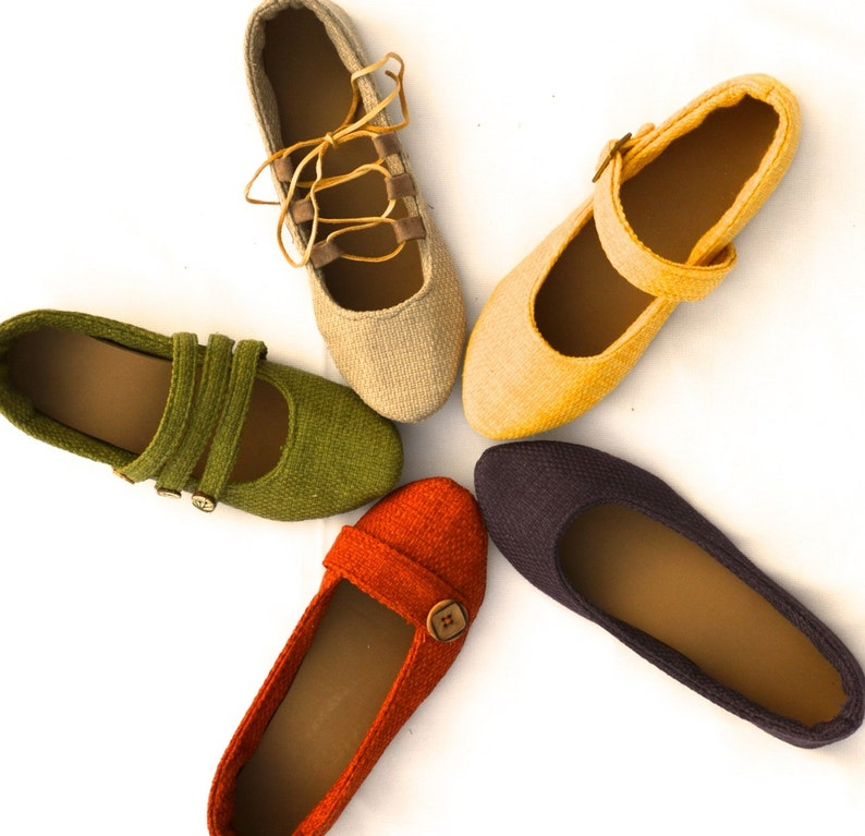Women's Sewing Pattern for Outdoor Soft Soled Shoes image 0
