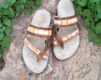 INSTANT DOWNLOAD Women's Sewing Pattern.  Bahama Sandals Pdf pattern.  Beach Summer Sandals Pattern for Women.