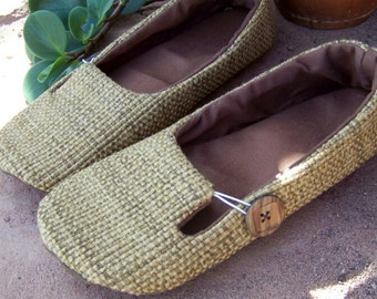 PDF Sewing Pattern Everyday Loafer Soft Soled Outdoor Shoes - Ballet Flats Vegan Ecofriendly  INSTANT DOWNLOAD Sizes 5-11
