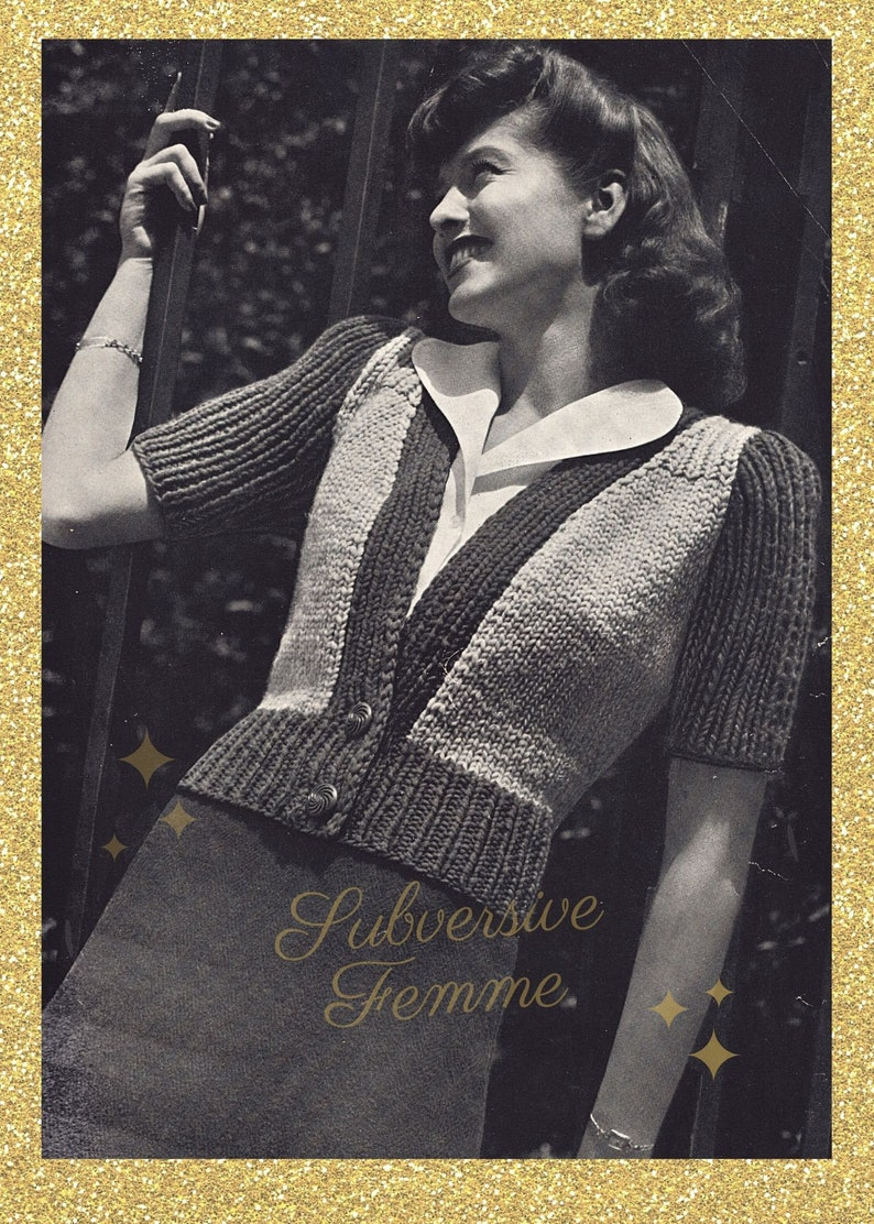 Free-N Easy a jumbo cardigan for the young at heart  vintage image 0
