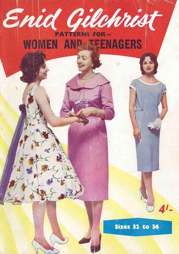 1950er Jahre \'Enid Gilchrist Muster für Frauen und | Etsy