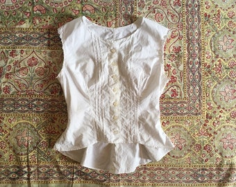adb927be5c9639 antique white cotton tank