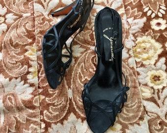 cc0d284ed50 Designer silk heel | Etsy
