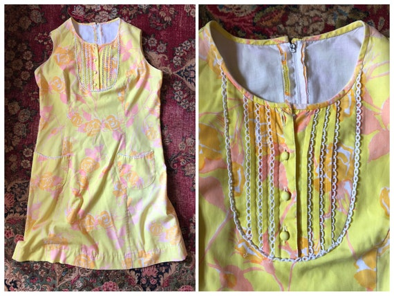 """true vintage 1960s Lilly Pulitzer """"The Lilly"""" dres"""
