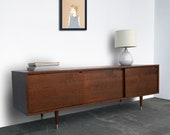 Roosevelt Credenza - Solid Cherry - Antique Cherry Finish - In Stock