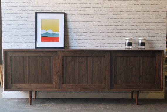Danish Credenza Walnut : Danish modern l a authentic mid century furniture