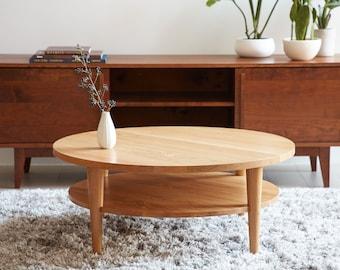 Round Coffee Table - Oxelaand - White Oak
