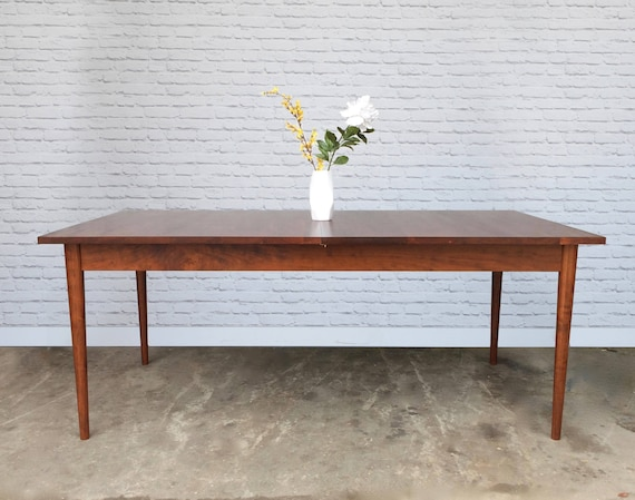 Expandable Dining Room Table - The Watson Table - Mid Century Modern  Inspired