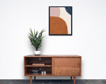 Whitewater Media Credenza - Solid Cherry - Clear Finish - In Stock!!!