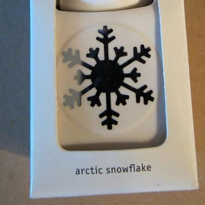 Martha Stewart ARTIC SNOWFLAKE Paper Punch Double Craft Scrapbook Card Making