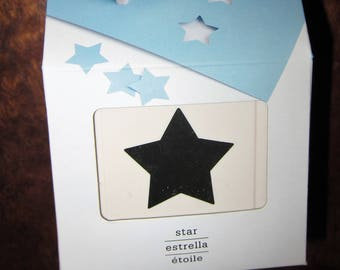 Martha Stewart Crafts STAR Large Punch All Over the Page 42-90002 NEW