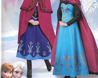 Dresses Modest Girls Frozen Elsa Coronation Snow Queen Princess Costume Party Dress And Cape