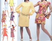 Simplicity 2967 Mini Dress Bag 1960s Retro Reissue Sewing Pattern Size 6, 8, 10, 12 and 14 UNCUT