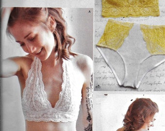 Simplicity 8228 Madalynne Soft Cup BRAS And PANTIES Sewing Pattern UNCUT  All Sizes 1ef115eb6