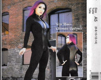 c7f63ece42 McCall s M7217 Cosplay YaYa Han Ultimate Bodysuit Costume Sewing Pattern  7217 UNCUT Size 6