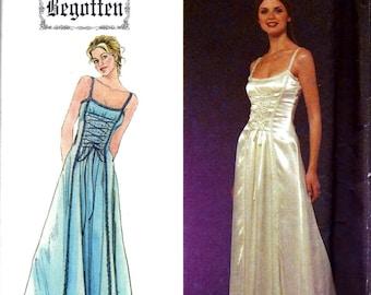 Simplicity BEGOTTEN Dress Renaissance Costume Prom Evening Gown Sewing Pattern 8983 Size 4 6 8 10 12