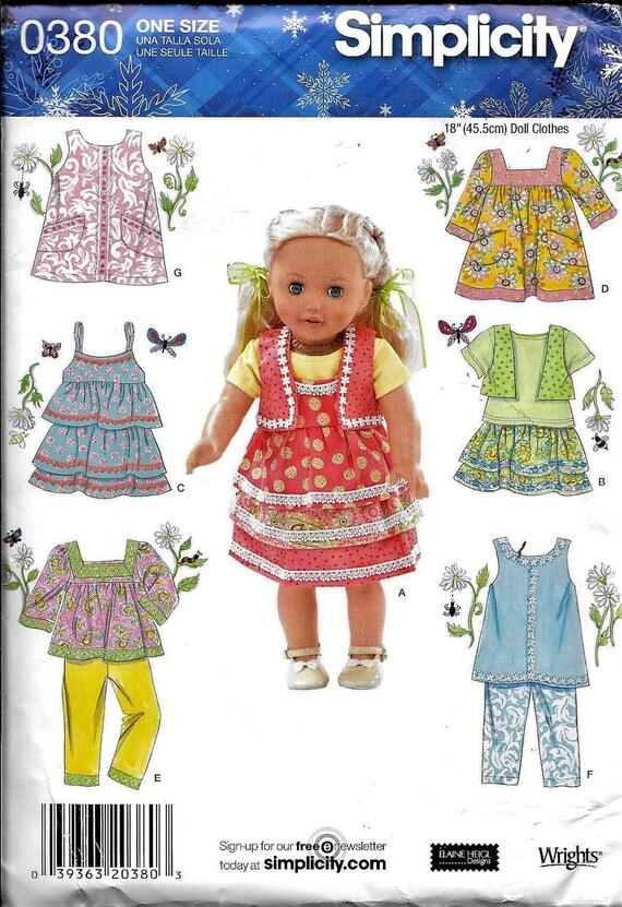 Baby Dolls Clothes KNITTING PATTERN 12-22 inch Premature Reborn Dress DK 7184