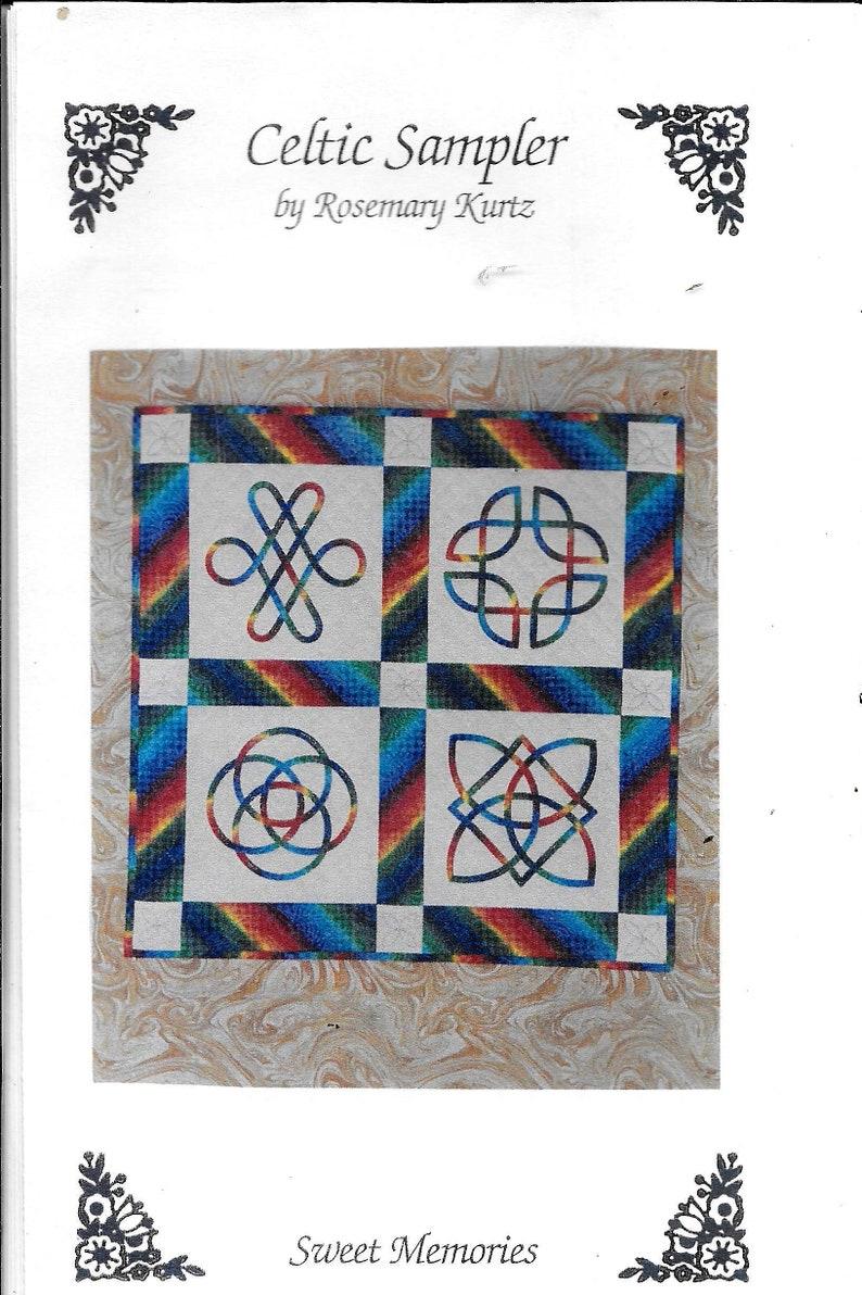 Wandbehang Nähen Anleitung.S U00fc U00dfe Erinnerungen Keltischen Sampler Von Rosemary Kurtz