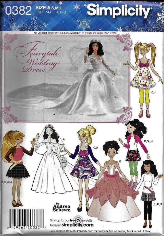 Muñeca de Barbie Bratz Liv simplicidad 0382 ropa boda vestido | Etsy