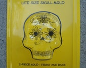 Extra Large Life Size Sugar Skull Mold - Day of the Dead
