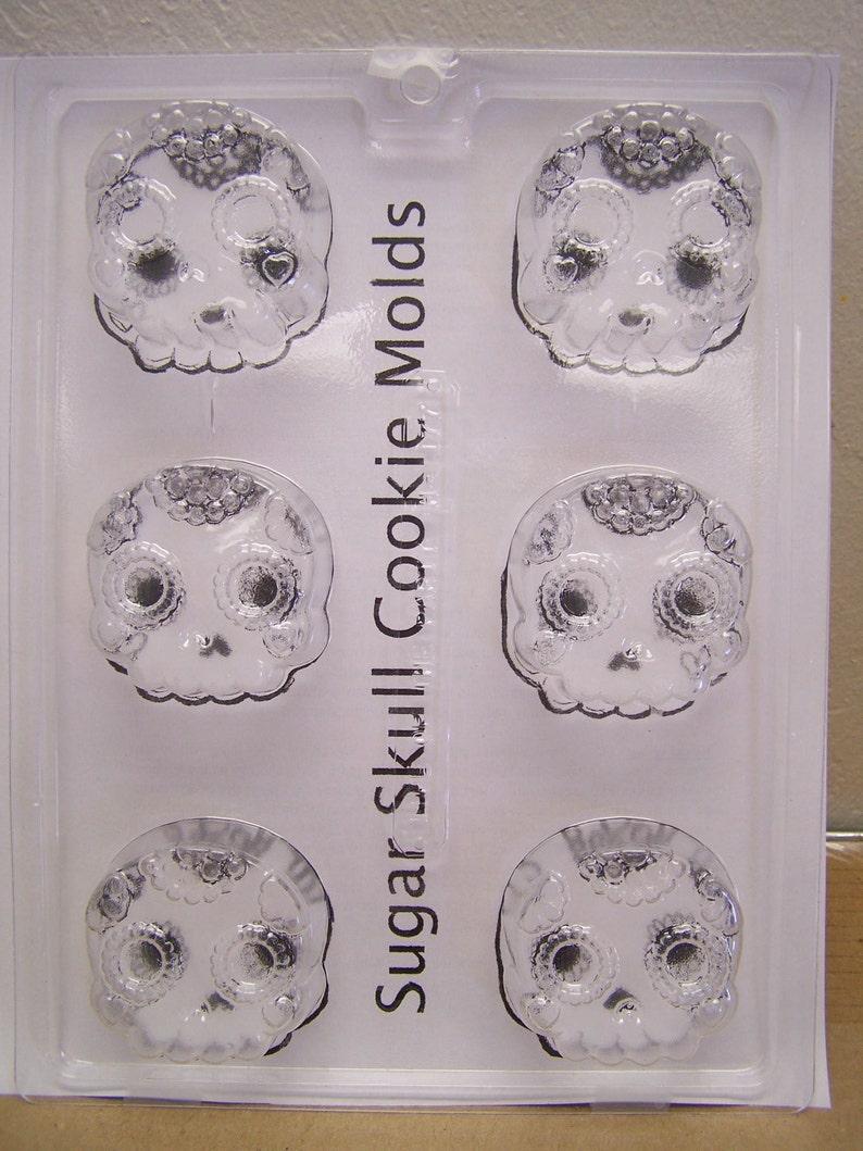 Sugar Skull Mold Day of the Dead Coffin Mummy Lollipop Molds