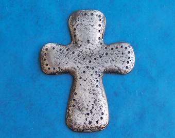 Pewter Roman Cross