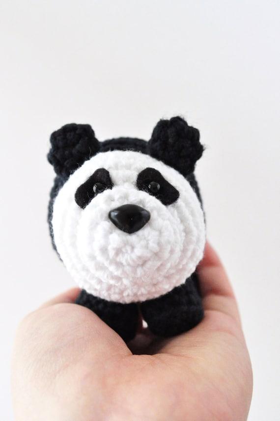 Crochet Panda Pattern Amigurumi Pattern Panda Pattern Diy Etsy