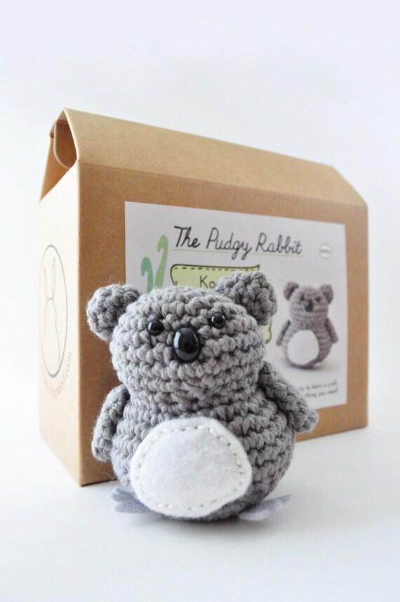 Lernen Sie Koala-häkeln-Kit Bausatz Amigurumi häkeln DIY | Etsy