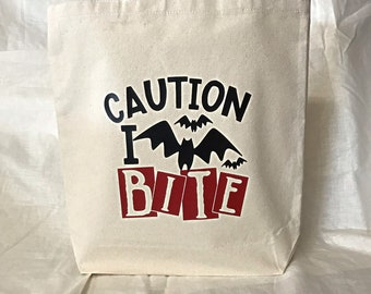Graphic Design Tote Hanging with the Heifers with Rhinestones Bandannas Nicole Cotton Canvas Natural Color Tote Bag