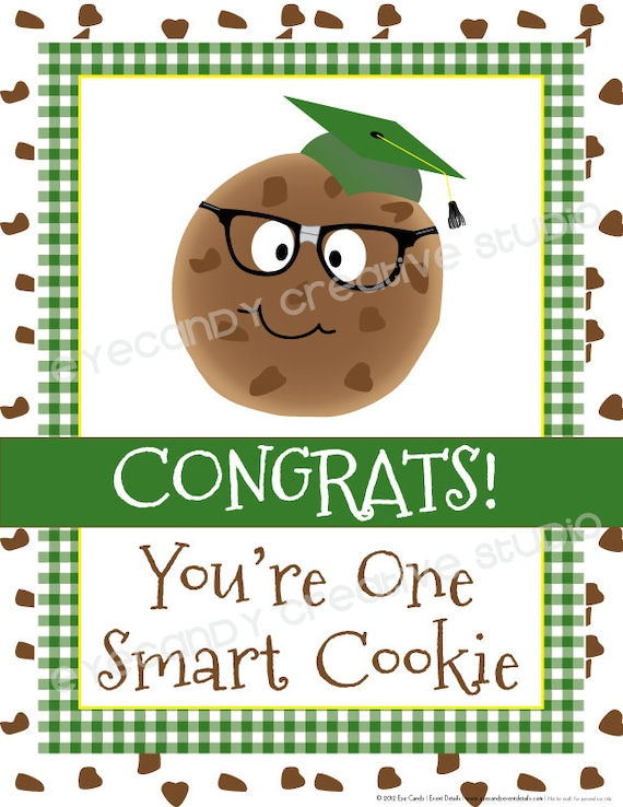 photo relating to Smart Cookie Printable named A single Good Cookie/ Milk Cookies / Again toward College Celebration Pack