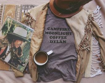 Campfire Moonlight Coffee Dylan Tee - Womens