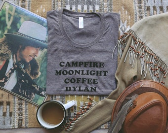 Campfire Moonlight Coffee Dylan Tee - Unisex