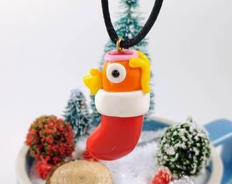 Karpador Strumpf Ornament - Pokemon - Urlaub Dekoration - Weihnachtsschmuck - Andenken Ornament