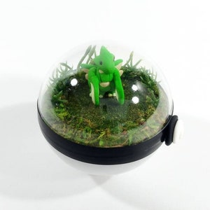 Mimikyu Pokeball Terrarium Miniature Pokemon Pokemon Terrarium