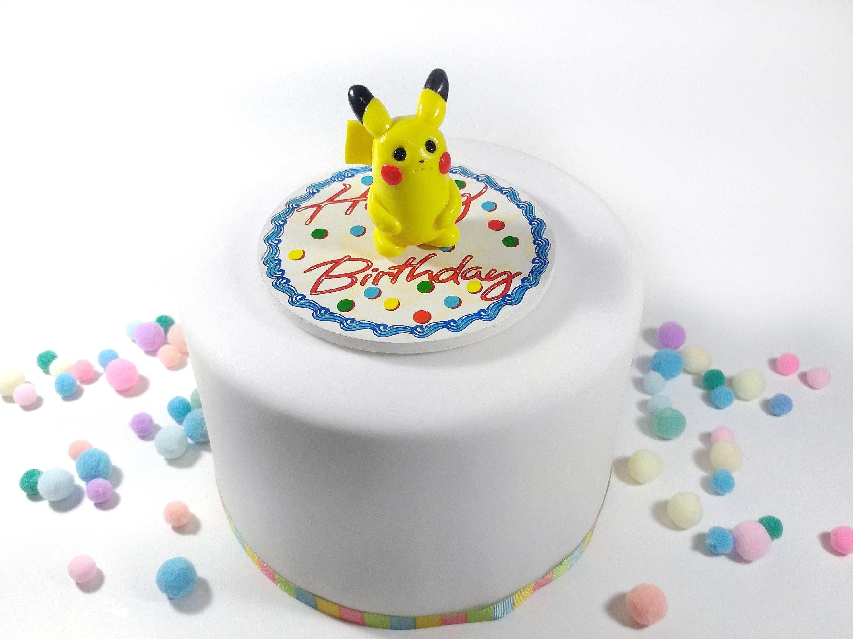 Stupendous Pikachu Pokemon Birthday Cake Topper Great For A Theme Birthday Funny Birthday Cards Online Eattedamsfinfo