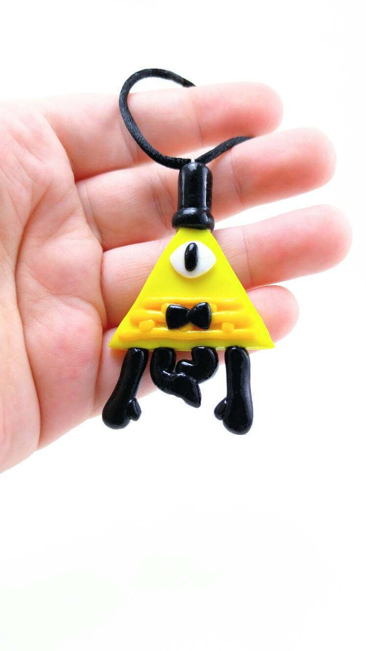 Bill Cipher Ornament or Magnet - Gravity Falls Ornament