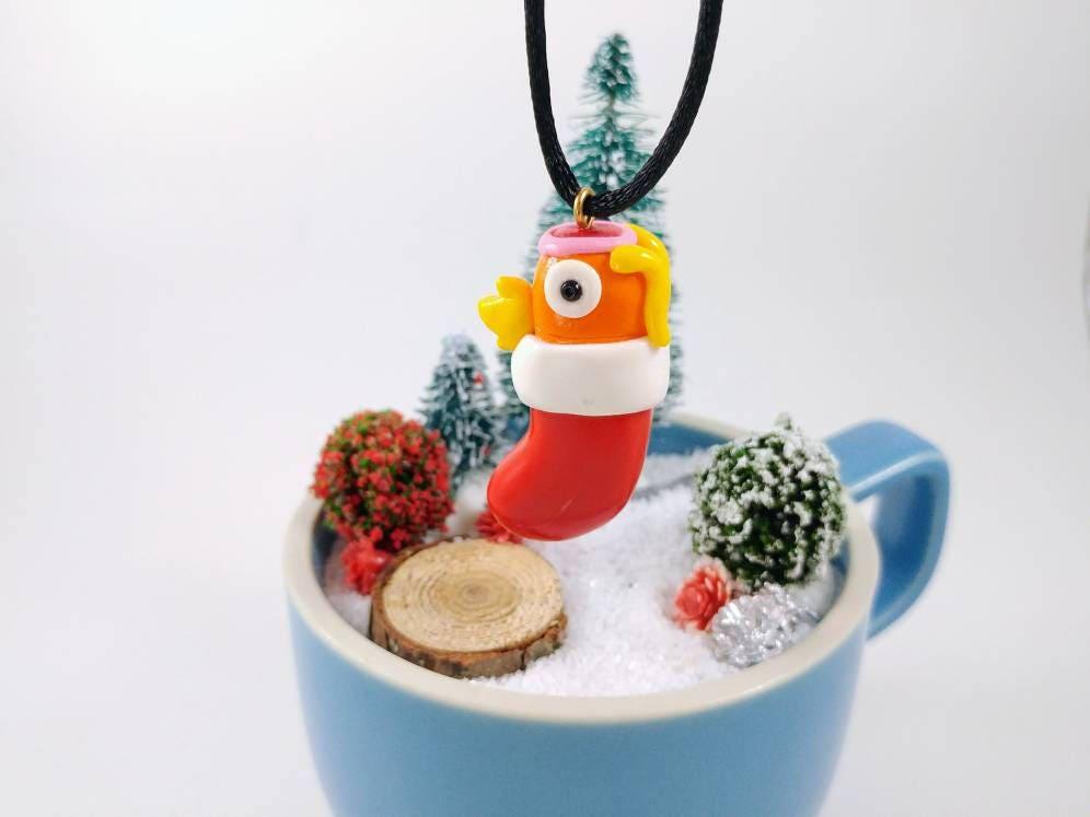 magikarp stocking ornament pokemon ornament holiday decoration christmas ornament keepsake ornament