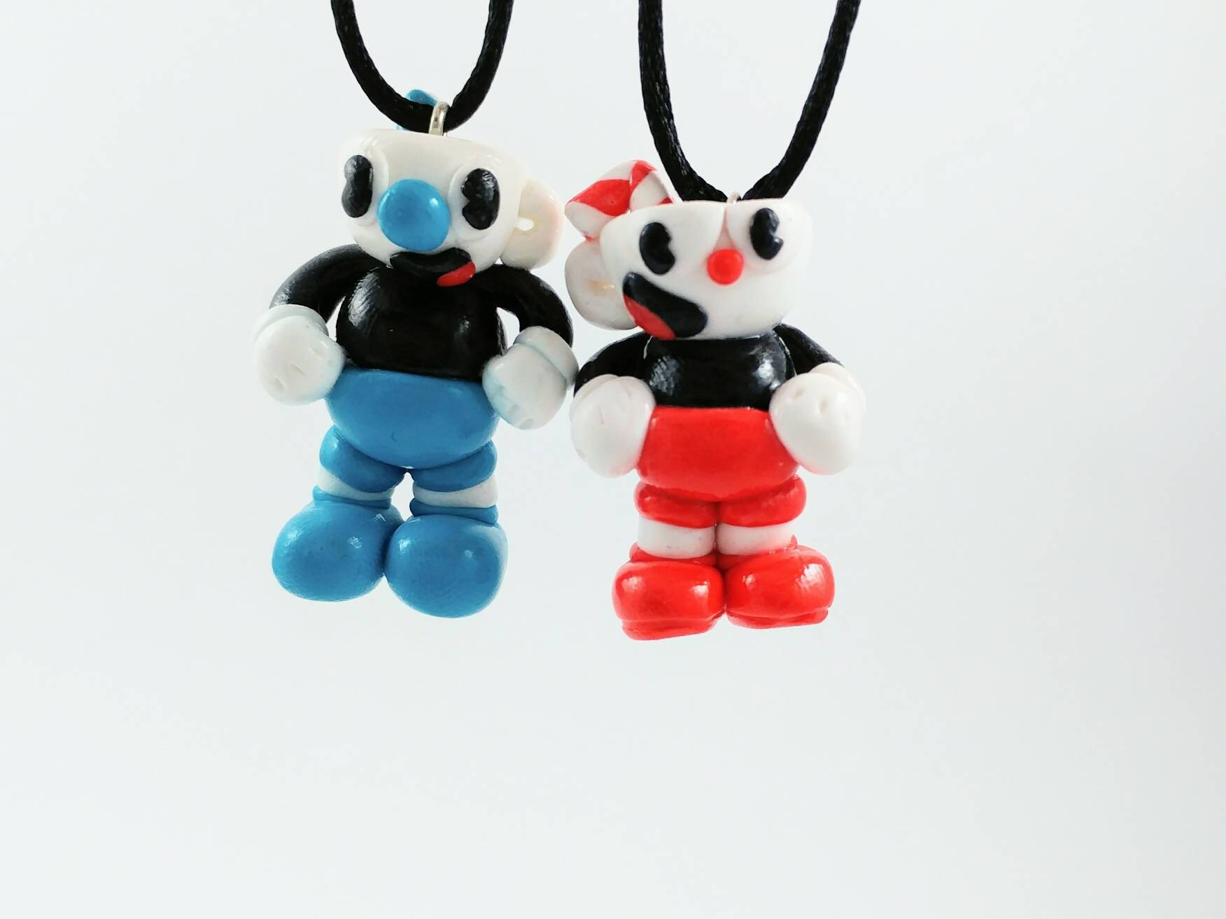 Cuphead and Mugman Ornament set - Indie Game Decoration - Cuphead ...