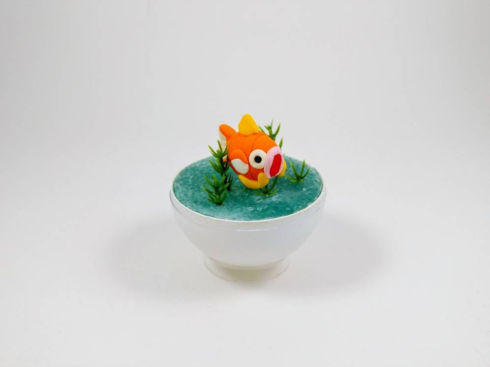Magikarp Pokeball Terrarium Miniature Pokemon Pokemon